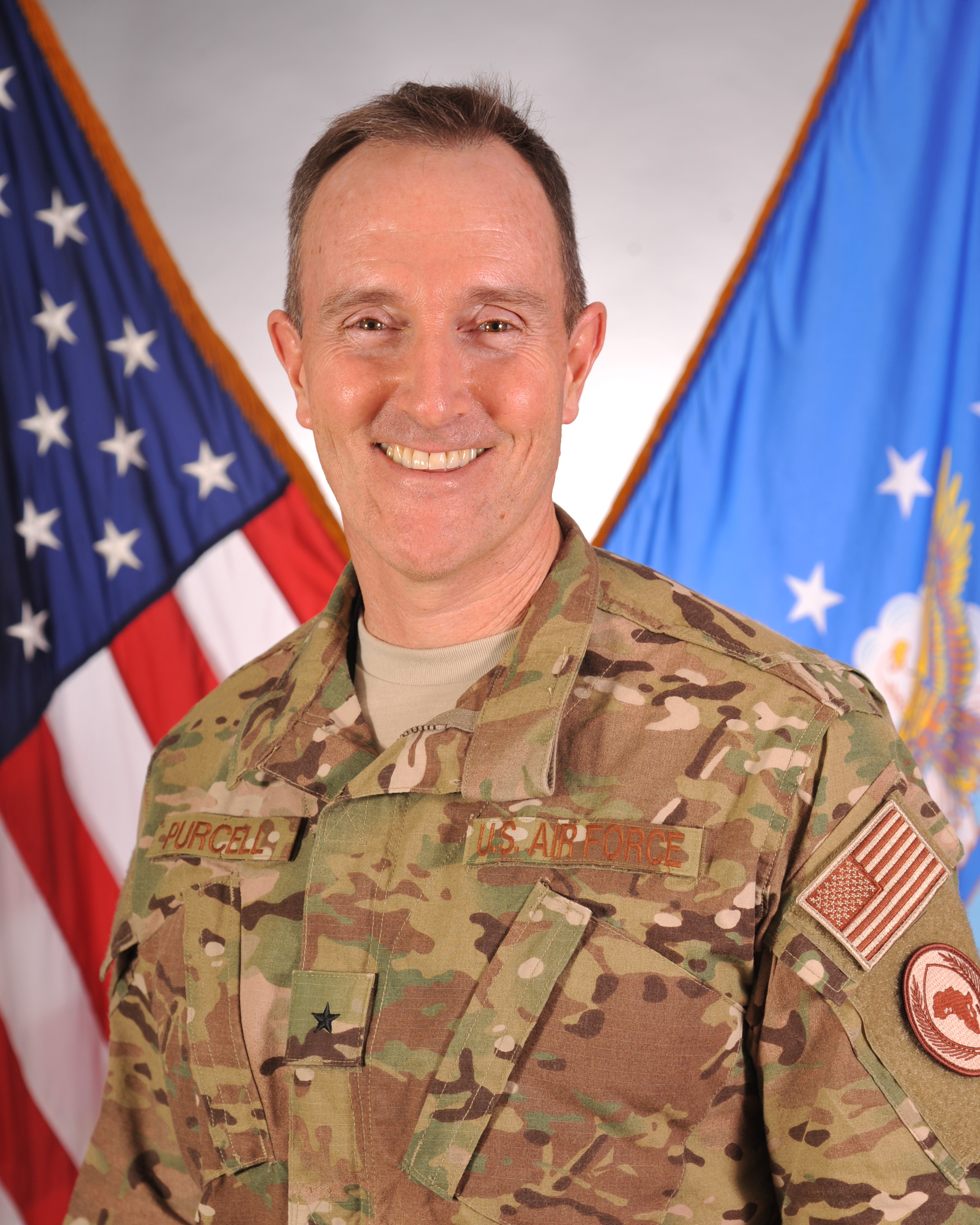 Brigadier General Phil Purcell is the Deputy Commander, Combined Joint Task Force-Horn of Africa, at Camp Lemonnier, Djibouti. In this position, he supports the CJTF-HOA Commander to counter violent extremism in East Africa. General Purcell is also responsible for developing relations with senior military leaders in African partner nations and directing CJTF staff and subordinate commanders' support to deployed personnel and units of all Services across the Horn of Africa.