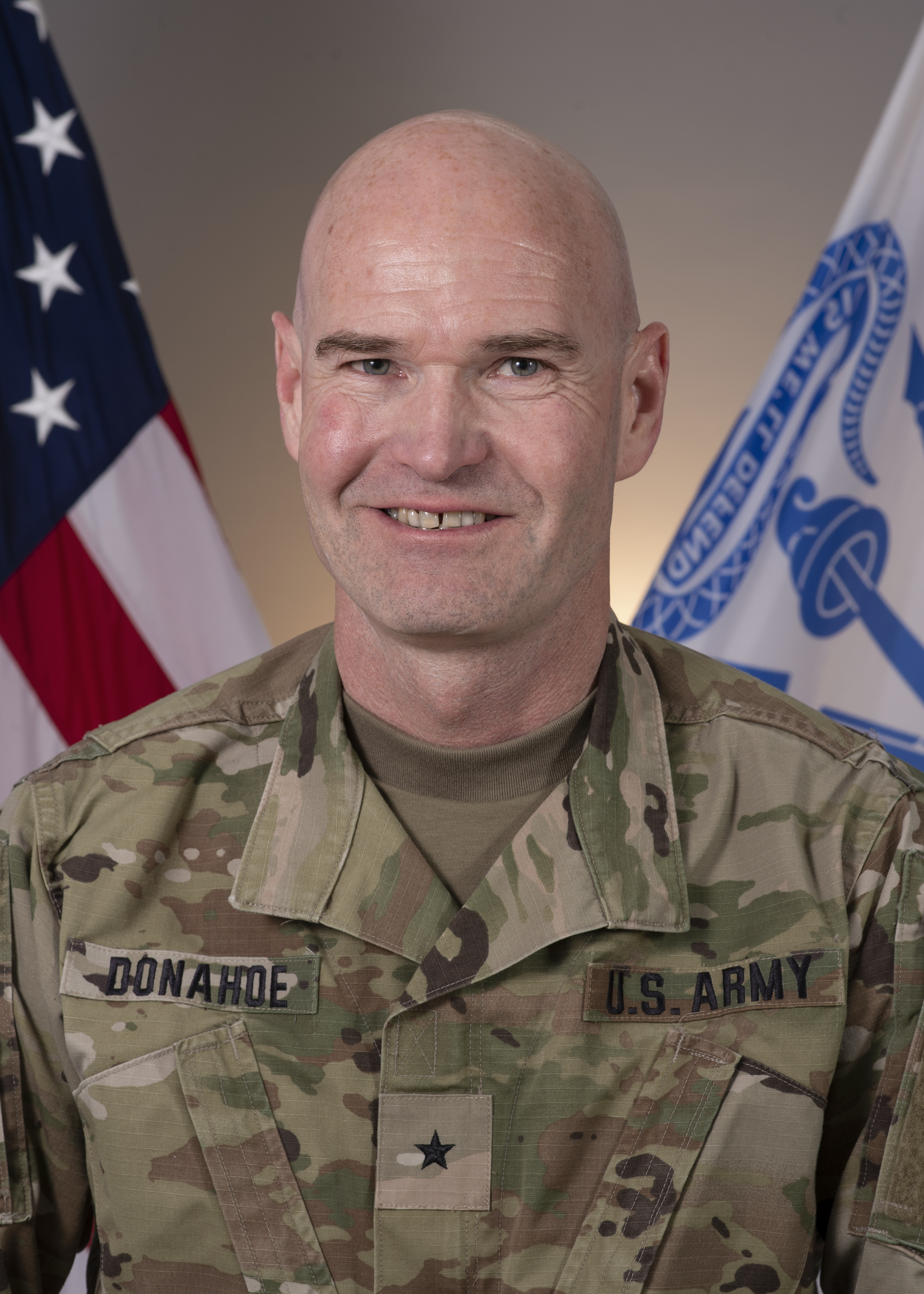 Official Photo of Brig. Gen. Damian T. Donahoe, Deputy Commanding General, Combined Joint Task Force–Horn of Africa.